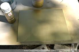 testing the idea of diying a back painted glass backsplash 7