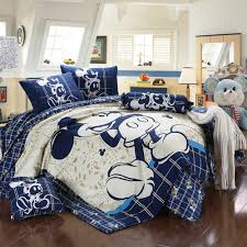 Mickey Mouse Bedroom Curtains Very Popular Mickey Mouse Queen Bedding All King Bed