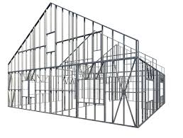 Metal framing studs Radius Key Features Of Metal Framing Wall Hunker Framing Revit Walls With Steel Studs Plates Metal Framing Wall