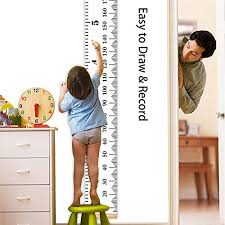 Hanging Growth Chart Thincowin Wall Growth Chart Wall Hanging Height Chart For