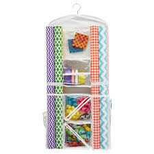 Hanging Gift Wrap Organizer Gift Wrap Storage Container 089