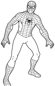 Small Picture Film Easter Coloring Pages Spiderman Drawing Color Spiderman