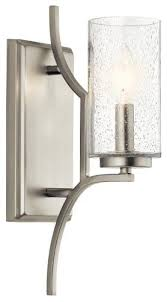 wall sconce 1 light transitional