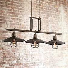 Image Dining Room Garryton Industrial 44 Lamps Plus Industrial Edison Lighting Fixtures Lamps Plus