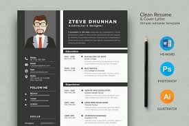 Resume Templates Design Resume 2 Page Cv Template