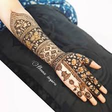 Bridal mehndi has also witnessed the trend of elegant arabic mehndi design patterns evolving, while traditional full hand. 25 Latest Inspiring Mehndi Designs For 2019 Weddings Bridal Mehendi And Makeup Wedding Blog