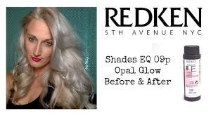 09p Shades Eq Chart Redken Shades Eq 09p Trial Before After Grannyhair Hair