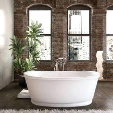 54in bathtub acrylic soaking freestanding bathtub mountain 54 x 27 bathtub with surround