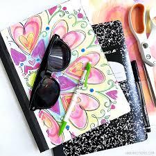 diy personalized school notebooks