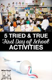 best ideas about first day activities high 5 tried and true back to school first day activities