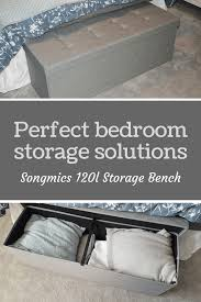 bedroom storage bench. Bedroom Storage Solution Songmics Bench Ottoman In Grey - If You\u0027re Looking For