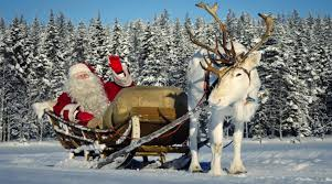 santa claus and reindeer. Unique Santa Santa Claus Interview Children Learning About Father Christmas In Lapland  Finland Message For Kids Inside And Reindeer H