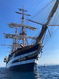 La Nave Scuola Amerigo Vespucci A Golfo Aranci - YepSea