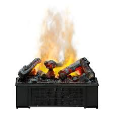 dimplex opti myst 22 inch electric fireplace deluxe cassette insert w logs dfi600l
