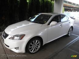 lexus is 250 2008 white. Simple White Starfire White Pearl  Black Lexus IS 250 AWD For Is 2008