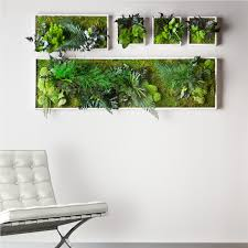 This pin inspired us to create a lush living wall as the focal point of the  evrgrn loft the perfect backdrop for the living room campsite via Bob