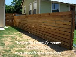 horizontal wood slat fence. Horizontal Fence Kyle, TX The Ace Company Offers Free Staining On All Of Our Wood Fences Over 175 Feet. Slat P
