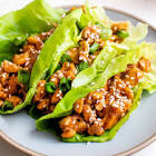 asian style lettuce wraps