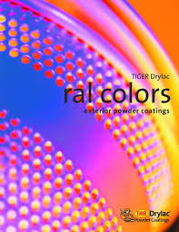 Tiger Color Chart Ral Tiger Drylac Color Chart Edmonton Roof Snow Removal