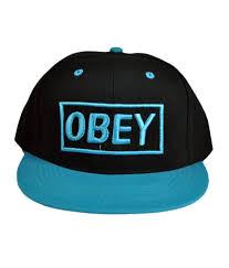 Designer Caps India Eshoppee Obey Cap Blue Black Designer Cap For Men Women