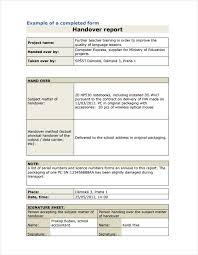 Sample Resume Handover Notes Template University Study Skills