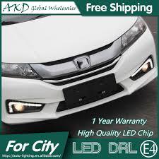 Us 900 Akd Car Styling Led Fog Lamp For Honda City Drl 2014 New City Led Drl Daytime Running Light Fog Light Signal Parking Accessories In Car