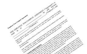 Massachusetts Legislature Passes Non Compete Law