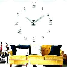 big wall clock unusual large clocks for extra fried egg interesting size nz image