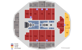 Tacoma Dome Seating Chart With Rows Competent Seat Number Tacoma Dome Seating Chart Tacoma Dome