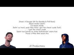 Beast Mode A Boogie Wit Da Hoodie Feat PnB Rock YoungBoy Never Custom A Boogie Wit Da Hoodie Quotes