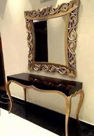 designer mirror tables decorative