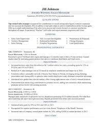 Monster Resume Examples Updated Sales Manager Resume Sample