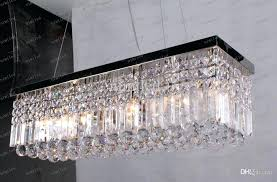 rectangular crystal chandelier in led rectangle lamps modern ceiling ideas 9 chandeliers lamp