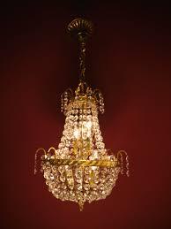 Sac A Perle Kronleuchter Antik Kristall Lüster Alte Lampen