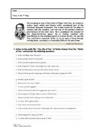 the black cat edgar allan poe summary funny cats  the black cat · english worksheet edgar allan poe biography questions