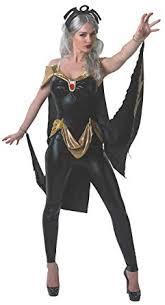 Marvelous Secret Wishes Womenu0027s Marvel Universe Secret Wishes Storm Costume Cat Suit  And Mask, Multicolor,
