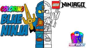 LEGO Ninjago Jay The Blue Ninja Coloring Page - The LEGO Ninjago Movie  Coloring Book for Kids - YouTube
