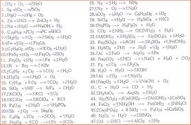 balancing chemical equations answers chemistry help michael blaber worksheet writing and balancing chemical reactions