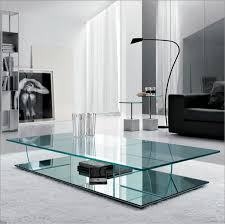 Italian Design Coffee Tables Harrow Italian Contemporary Glass Coffee Table Modern Coffee
