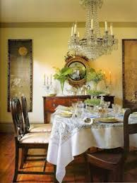 it hangs in martha stewart s dinning room at her bedford estate it use to hang in the dinning room of her turkey hill home