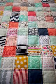 Best 25+ Cute quilts ideas on Pinterest | Teal quilt, Baby quilt ... & Cute quilt. Would love to do something like this with my son's crib sheets  once Adamdwight.com