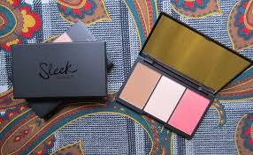 sleek face form contour blush palette light vs fair sleek contour kit fair vs light