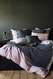 lisbon soft linen duvet cover rose pink