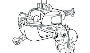 Paw Patrol Printable Colouring Sheets Everest Pages Halloween