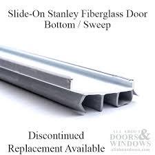 slide on door seal fiberglass door bottom sweep slide on sliding door seals rubber vw t4