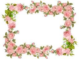 Flower Border Designs For Paper Paper Border Designs Flowers Paper Borders And Frames Vintage
