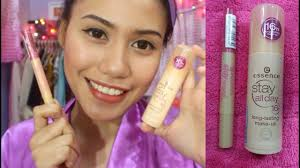 essence 16hrs stay all day foundation stay natural concealer alog review purpleheiress
