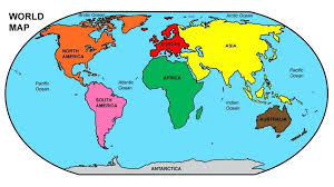 World Map Europe And Asia Oceans Of The World Map Europe Labeled With Stumbleweb Info