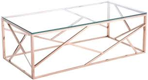 cage rose gold coffee table australia full size