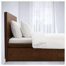 high bed frame with storage. Plain Storage MALM Bed Frame High With 2 Storage Boxes Beds  IKEA  On High Bed Frame With Storage B